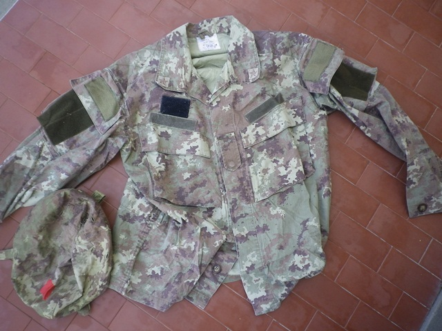 Aghan made body armour cover and modified uniform Fas010