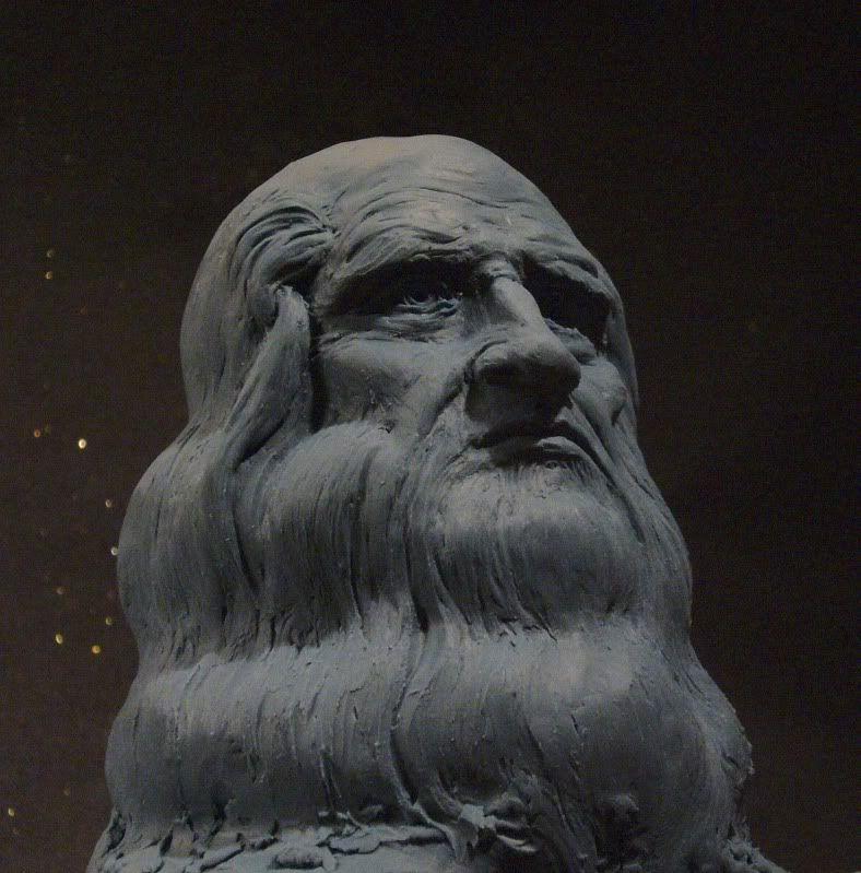 Leonardo bust Xv-2