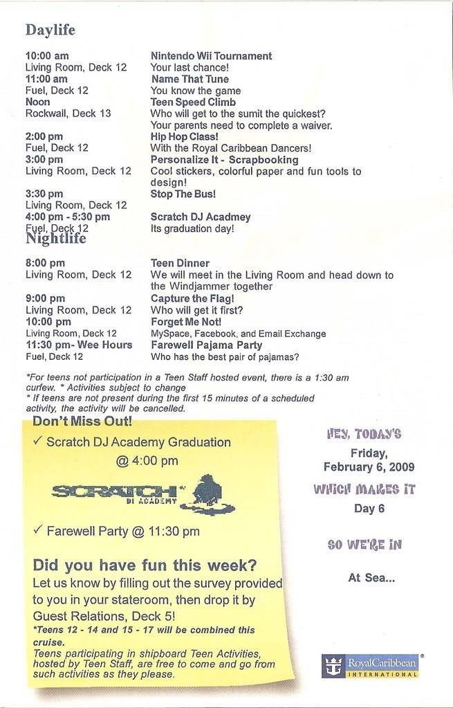 Independence of the Seas Fort Laud, Belize, Costa Maya, Coz - Page 2 Indy12-14Day6