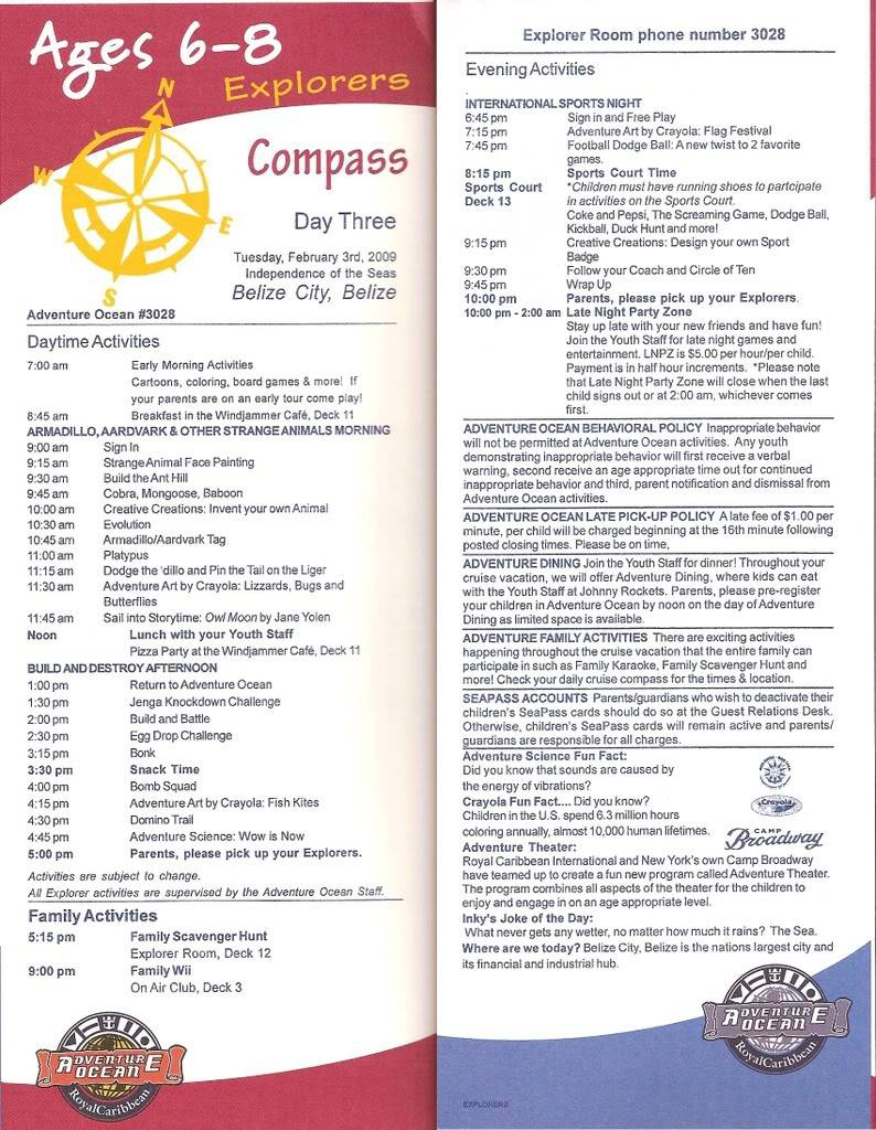 Independence of the Seas Fort Laud, Belize, Costa Maya, Coz - Page 2 Indy6-8Day3