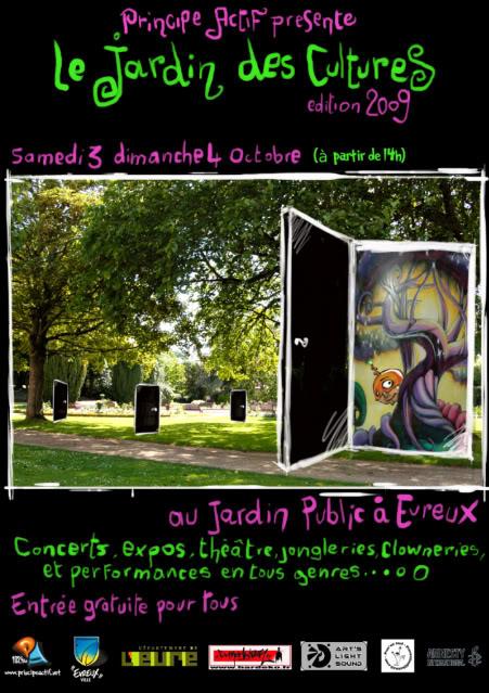 """3/4 oct """"le jardin des cultures"""" evreux(gratuit) Jardin_2009_encart"""