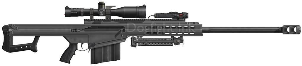 Weapon Arsenal M107