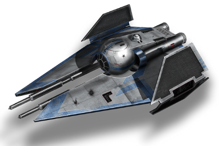 *Battle over Ossus* ETA-5Interceptor-2-1