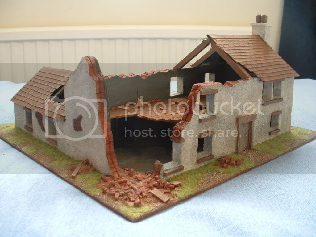 The building of Phil's farmhouse ruin DSCF0002
