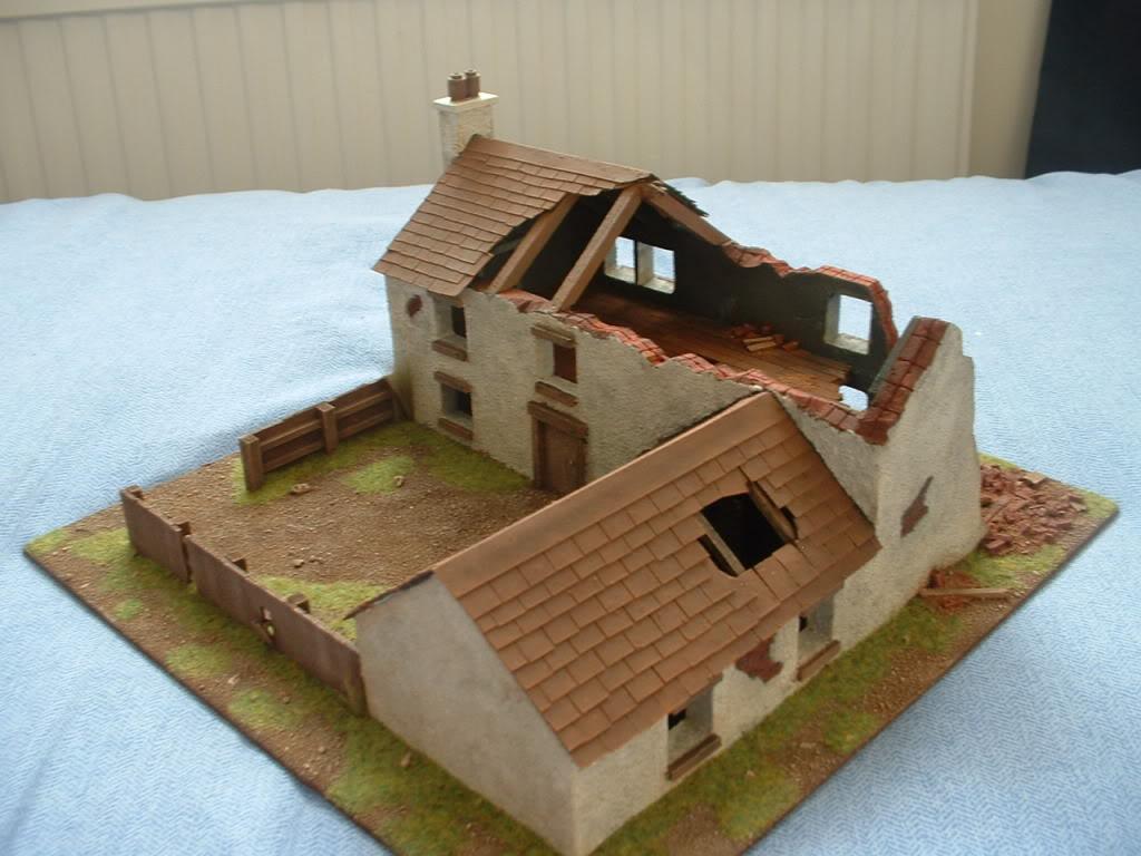 The building of Phil's farmhouse ruin DSCF0007