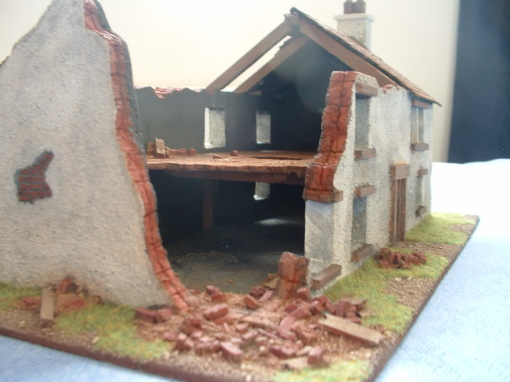 The building of Phil's farmhouse ruin DSCF0011
