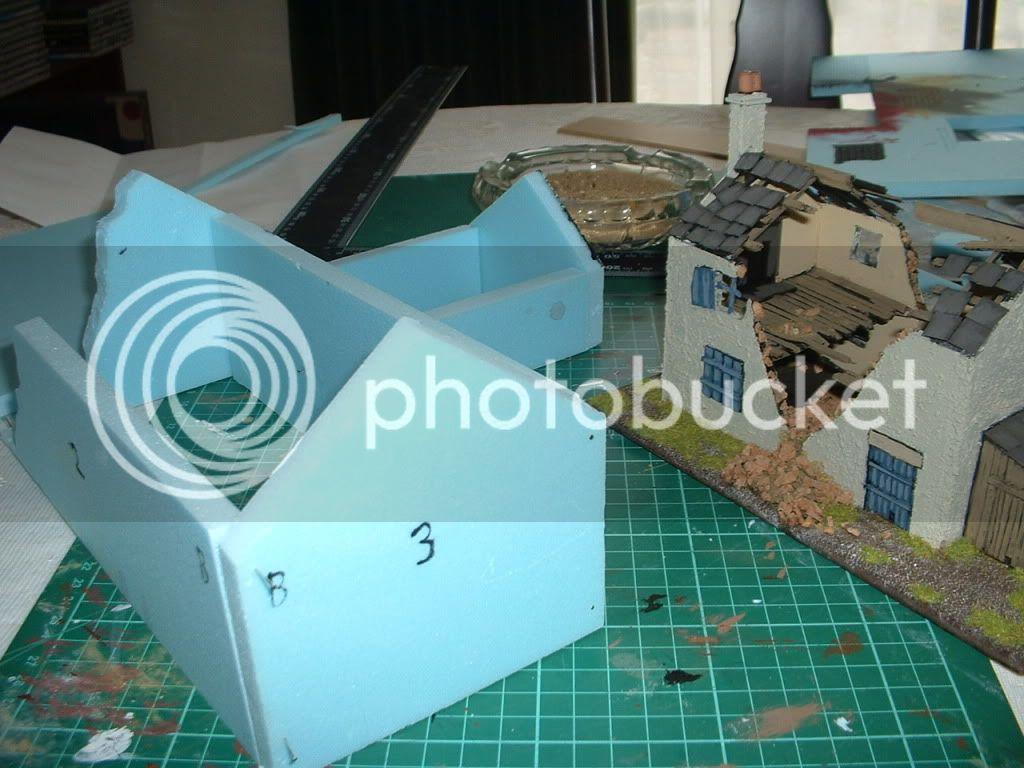 The building of Phil's farmhouse ruin Ruin3