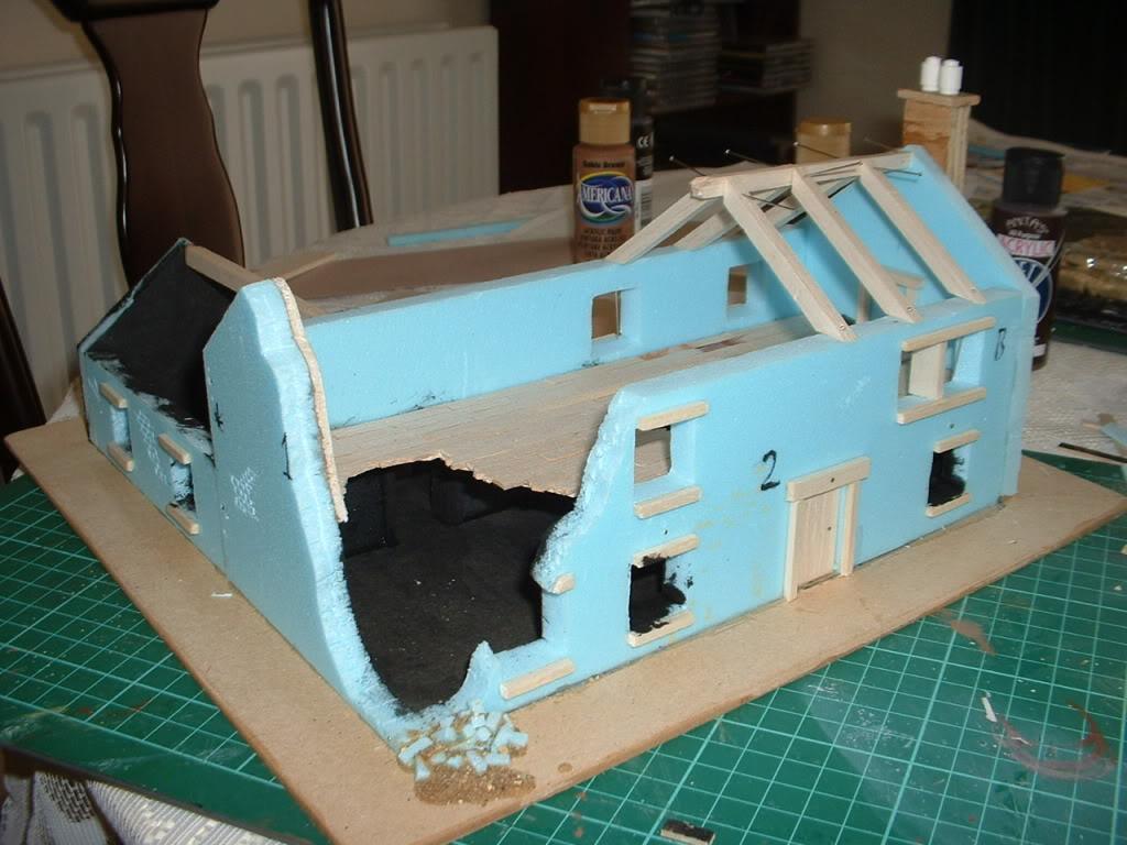 The building of Phil's farmhouse ruin Ruin7