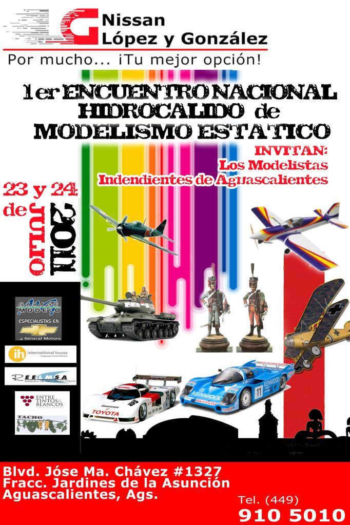 Concurso AGUASCALIENTES 2011 Eventomodelismo1