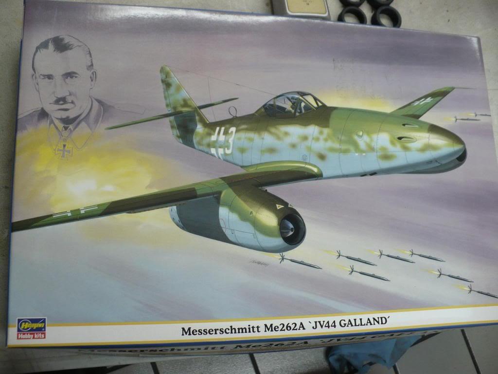 MS-262A JV44 Galland - 1/32 Hasegawa P1040085