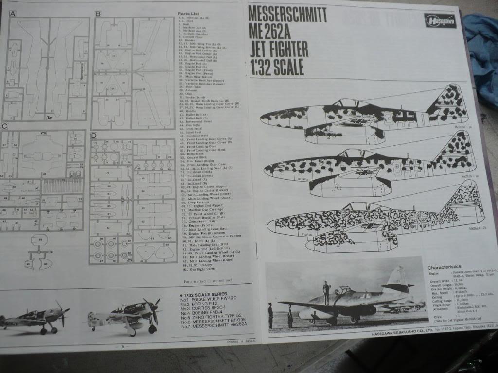 MS-262A JV44 Galland - 1/32 Hasegawa P1040089