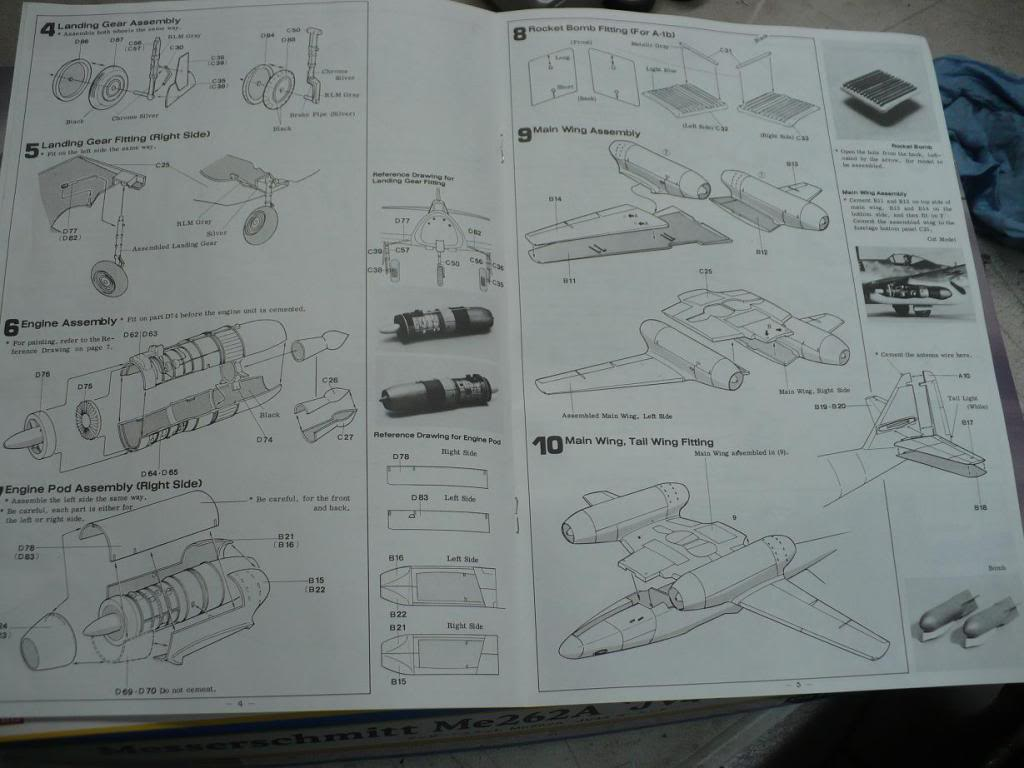 MS-262A JV44 Galland - 1/32 Hasegawa P1040091