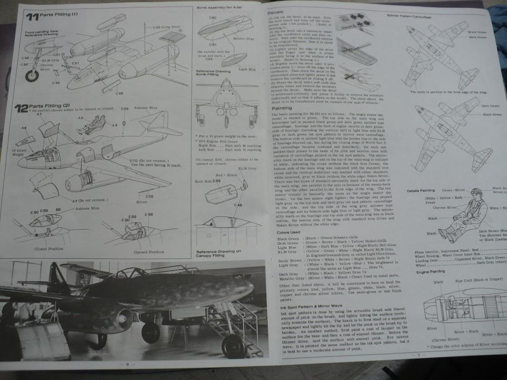 MS-262A JV44 Galland - 1/32 Hasegawa P1040092