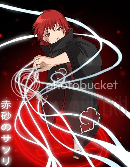 The Akatuski (Spoiler: Pictures) Sasori