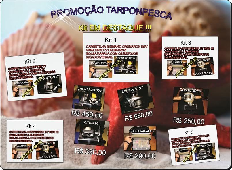 PROMOÇOES TARPONPESCA !!! PROMOOESPESCA