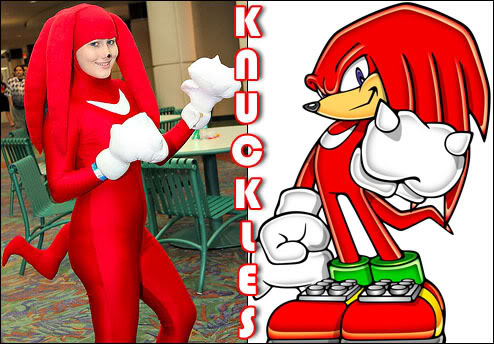 Cosplays Knuckles