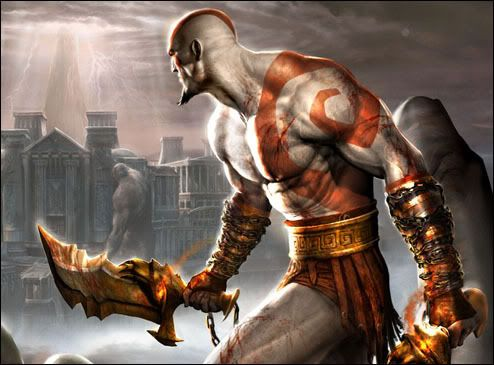 CLASH OF THE TITANS Kratos
