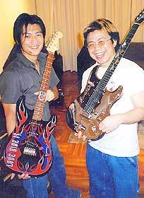 Bộ sưu tập guitar của Nic Stratocaster