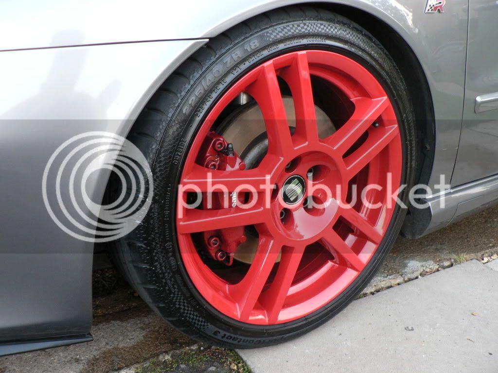 Wheel Refurbishment, Paint & Polishing P1030758