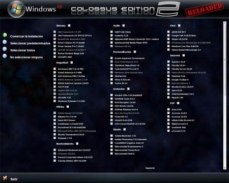 Windows XP Colossus Edition 2 Reloaded [Español]  29wr85g50