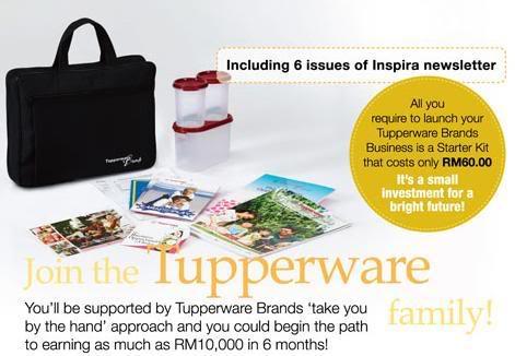 Jom Join Tupperware! Ahli
