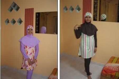 Baju Renang Muslimah Model