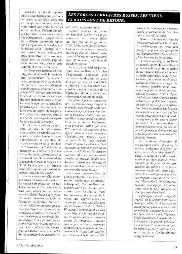 Revista dedicada ao conflito Russia-Geórgia Img66910