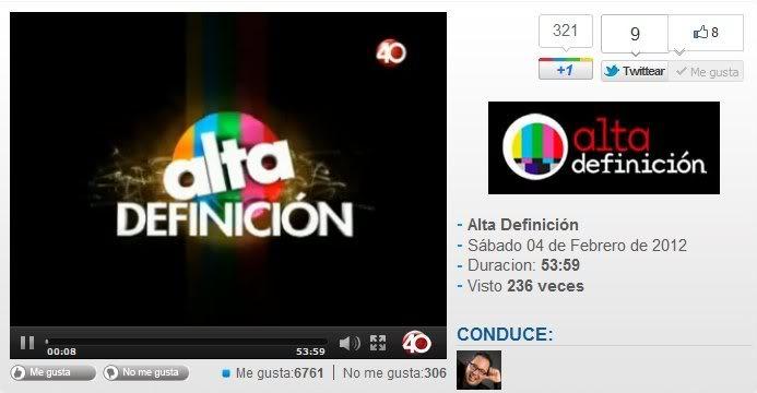 Supernatural No. 1 Top 20 series de Televisión Alta Definición Proyecto 40 TV ALVAROCUEVA
