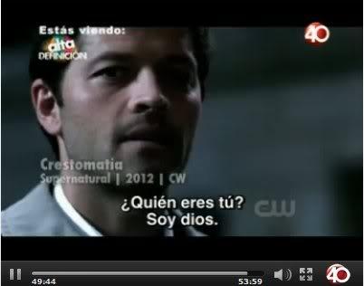 Supernatural No. 1 Top 20 series de Televisión Alta Definición Proyecto 40 TV Alc2