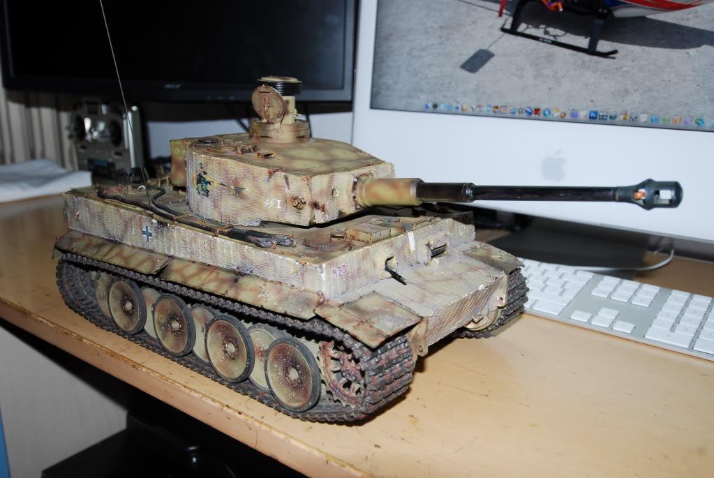 Vendo Tamiya Tiger1 con battle system pila radio  FCG_0001