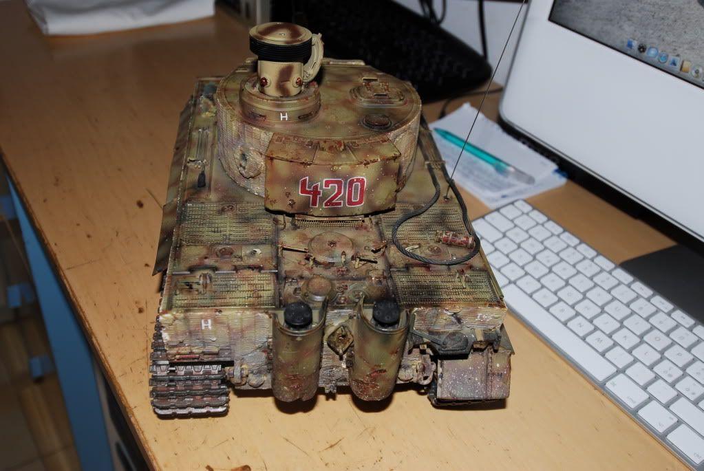 Vendo Tamiya Tiger1 con battle system pila radio  FCG_0015