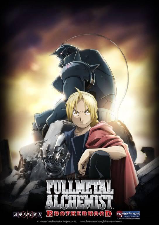 Full Metal Alchemist Brotherhood Fma-b