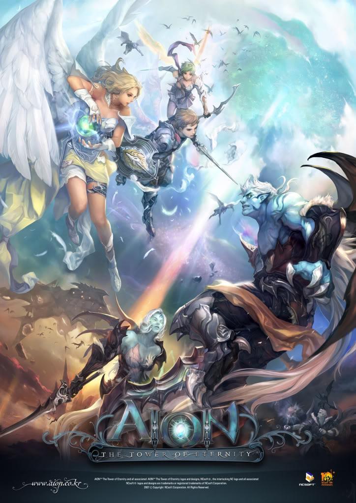 """Aion """"""""Dành cho những ai đam mê game chất lượng cao ^^  Aion_poster"""