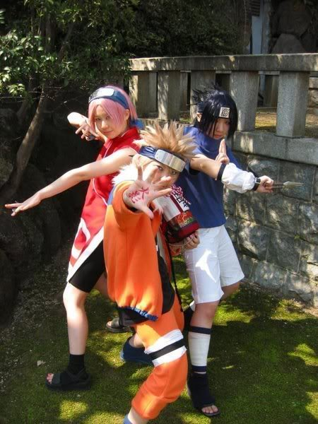 Cosplays de Naruto Yum