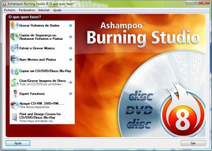 Ashampoo Burning Studio 8.03 (BR) + Serial Imagem_ashampoo_burning_studio8_01_