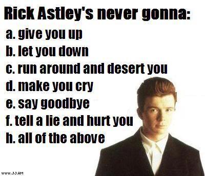 GUILTY PLEASURES RickAstley
