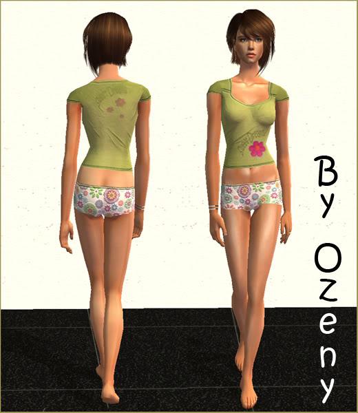 Pijamas y ropa interior (mujer adulta y adolescente) Pijama02