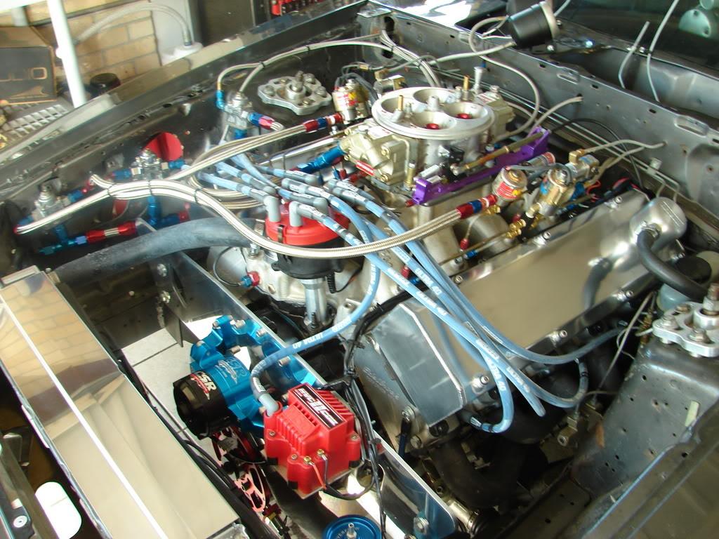 bruno's new B.F. EVANS RACING MOTOR 050