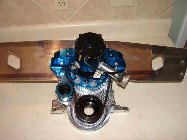 bruno's new B.F. EVANS RACING MOTOR 102