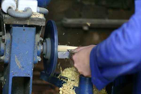 Spanish folding knife workshop visit photos Galiciaknives-2
