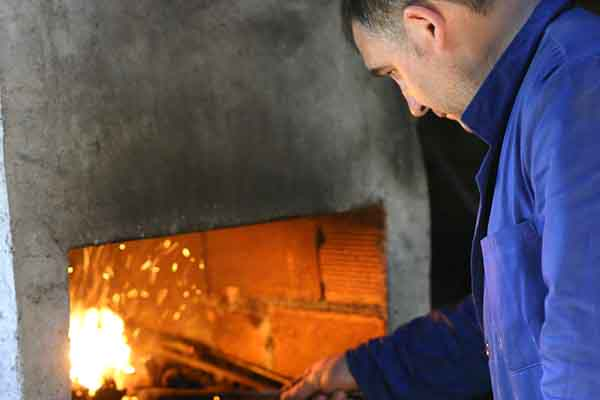 Spanish folding knife workshop visit photos Galiciaknives-20