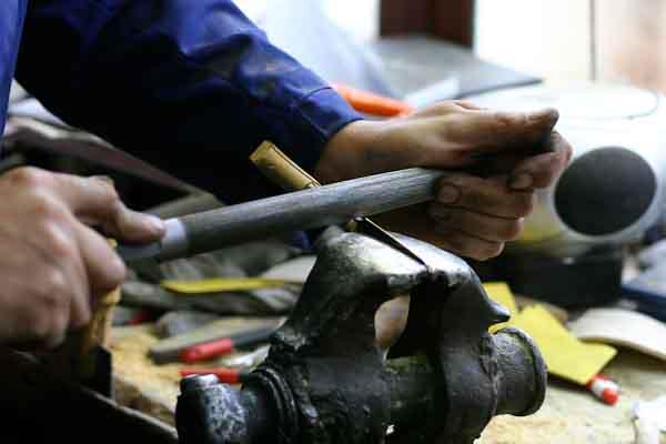 Spanish folding knife workshop visit photos Galiciaknives-9