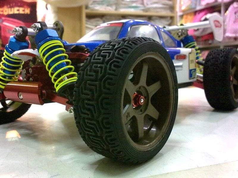 "RC Kyosho Mini Inferno brushless 4s by ""targeting"" 08_201220123075"