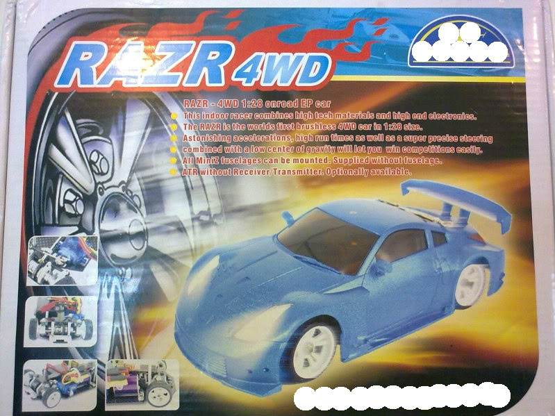 """targetingxmod"" Razr brushless 4x4 Mini-Z Mercedes body 03_180520111643"