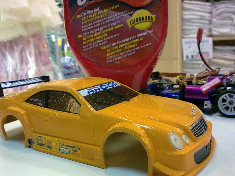 """targetingxmod"" Razr brushless 4x4 Mini-Z Mercedes body 06_190520111648"