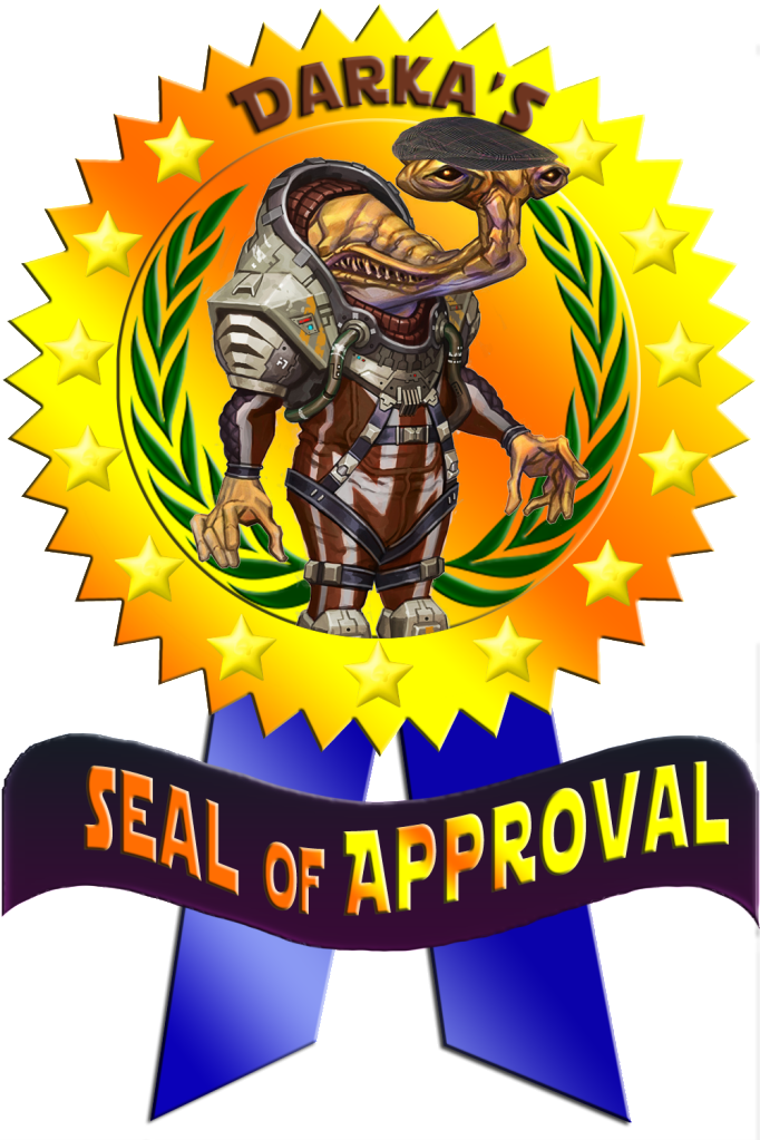 RIG Awarded The Seal of Approval Darka2-1