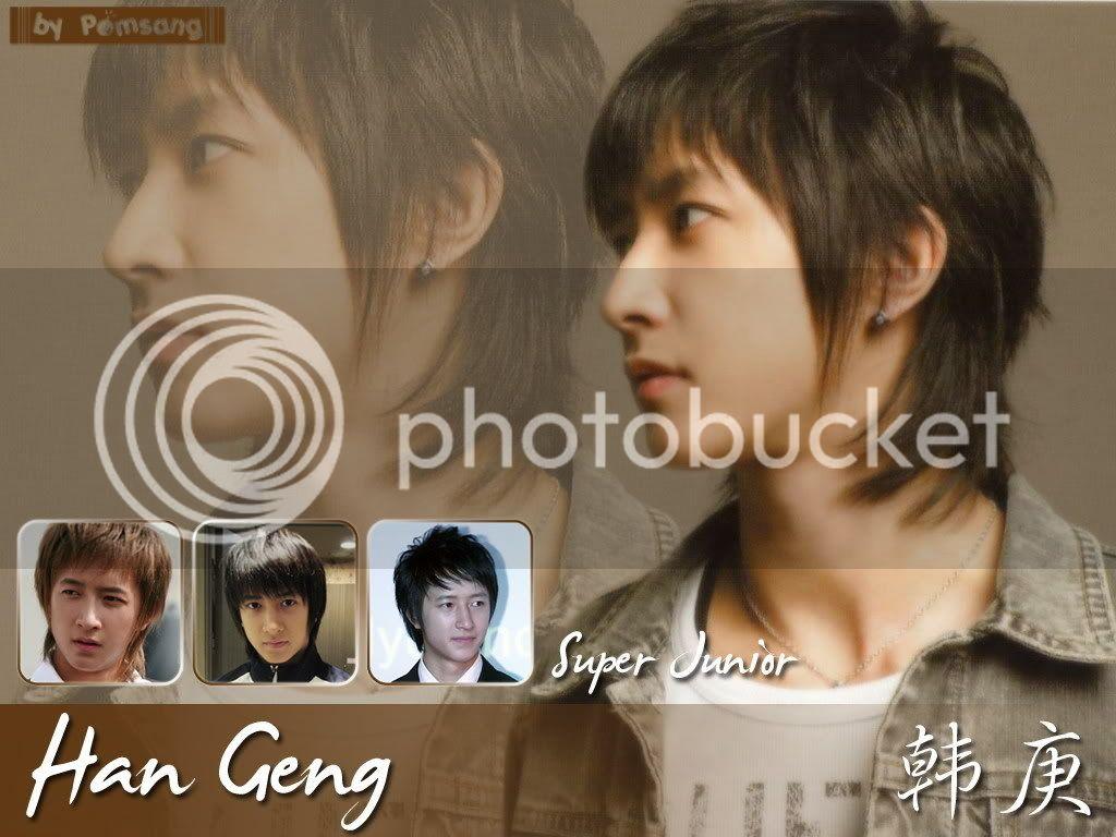 Chàng Trai Người Trung Quốc Duy Nhất của Super Junior Hangeng-love