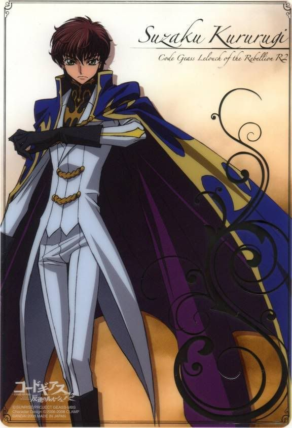 [Code Geass R2] [Suzaku Kururugi] [the Rounds of seven ver.] SuZZACode-Geass_-43