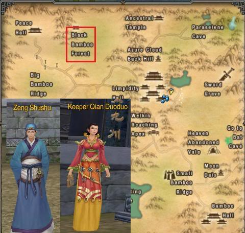 A`fu Event Quest Blackbamboo6npcs
