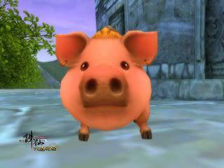The Zhuxian Pets (FAQ) Pig1